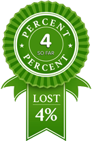4% Weight Loss
