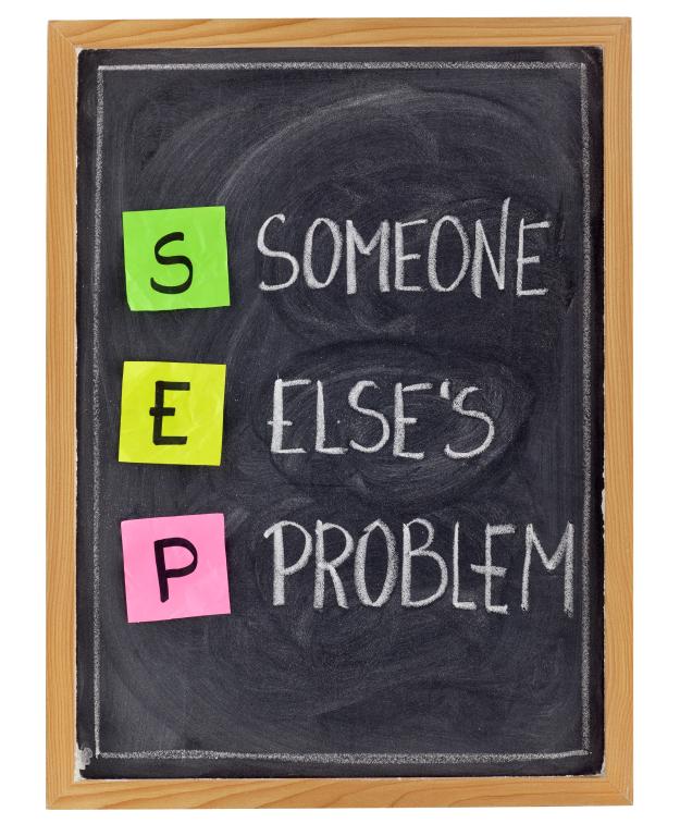 SEP Someone Else's Problem